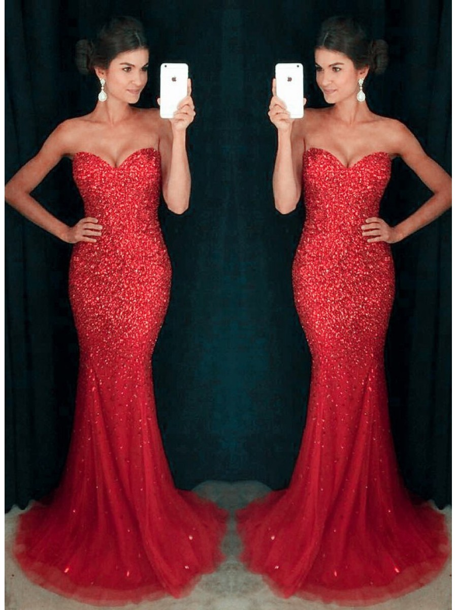 sparkly evening dresses photo - 1