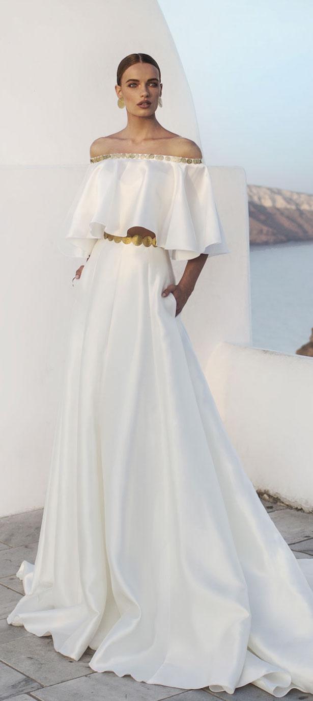 spring beach wedding dresses photo - 1