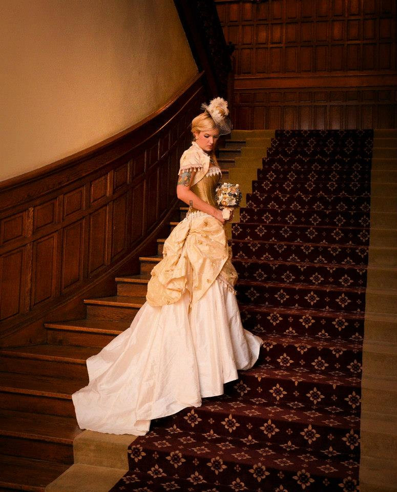 steampunk wedding dresses photo - 1