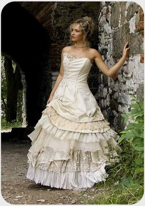 steampunk wedding dresses for sale photo - 1