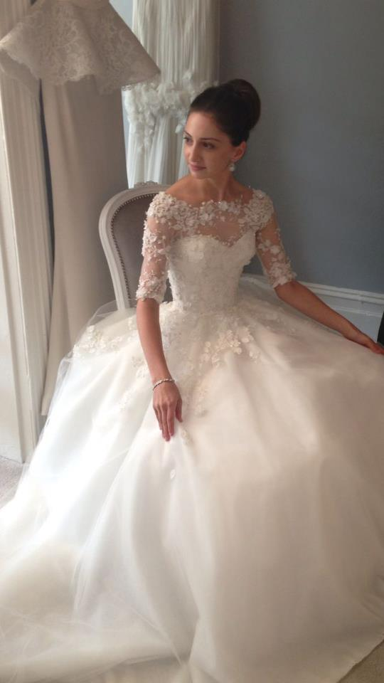 steven khalil wedding dresses photo - 1