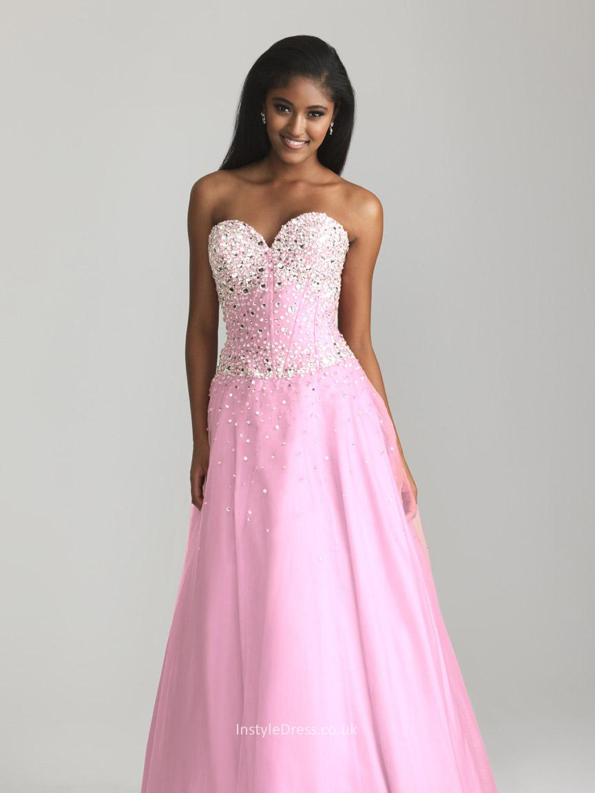 strapless sweetheart lace wedding dresses photo - 1