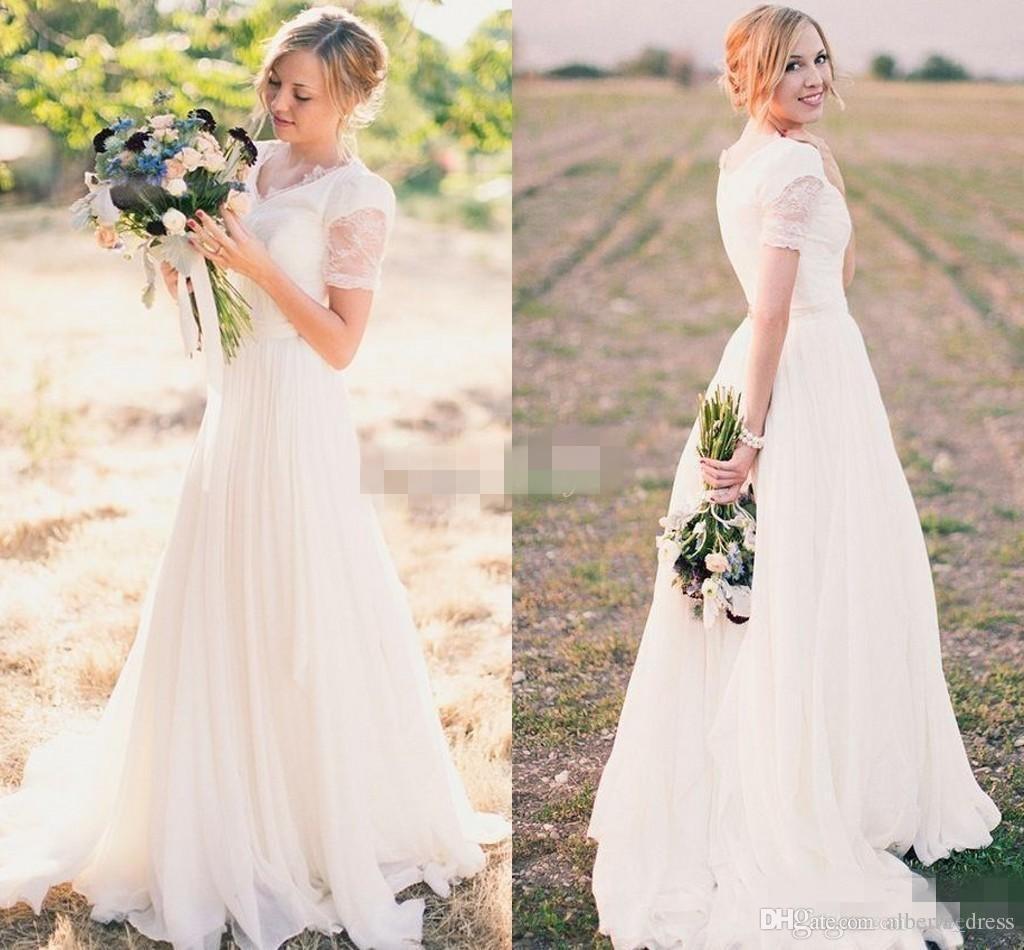 summer beach wedding dresses photo - 1