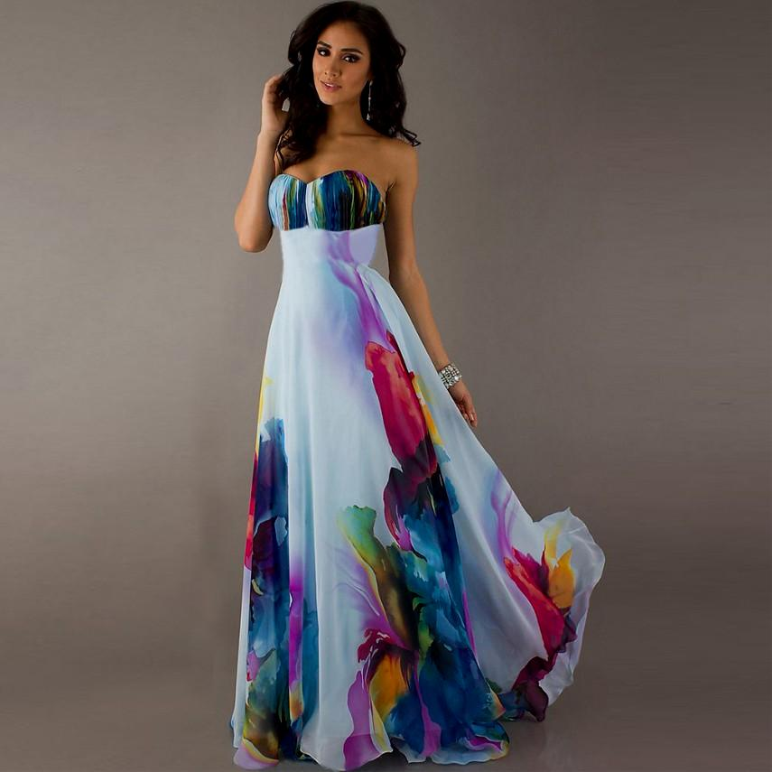 summer party dresses wedding photo - 1