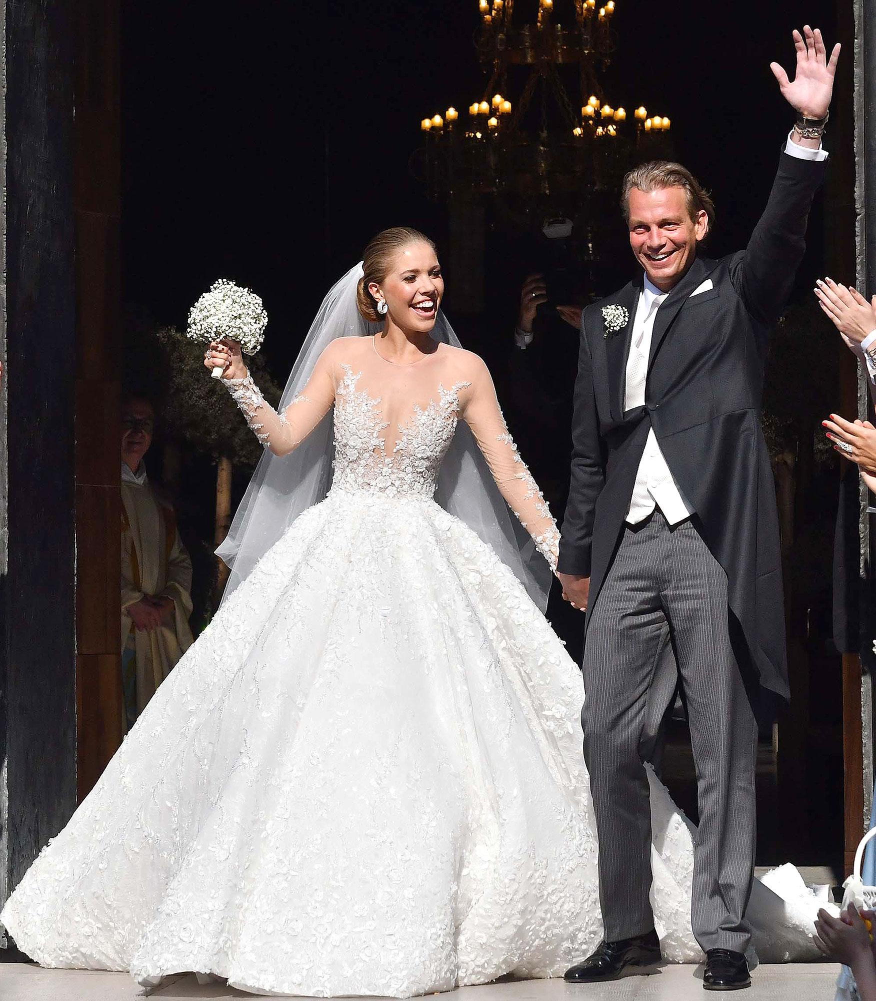 swarovski wedding dresses photo - 1