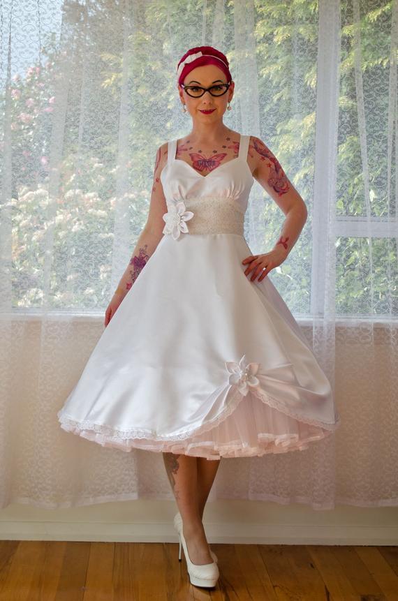 swing wedding dresses photo - 1