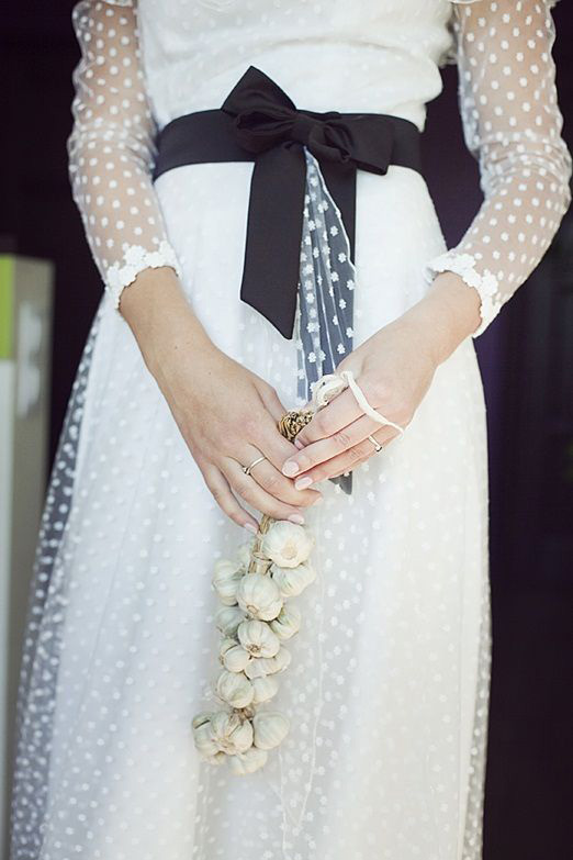 swiss dot wedding dresses photo - 1