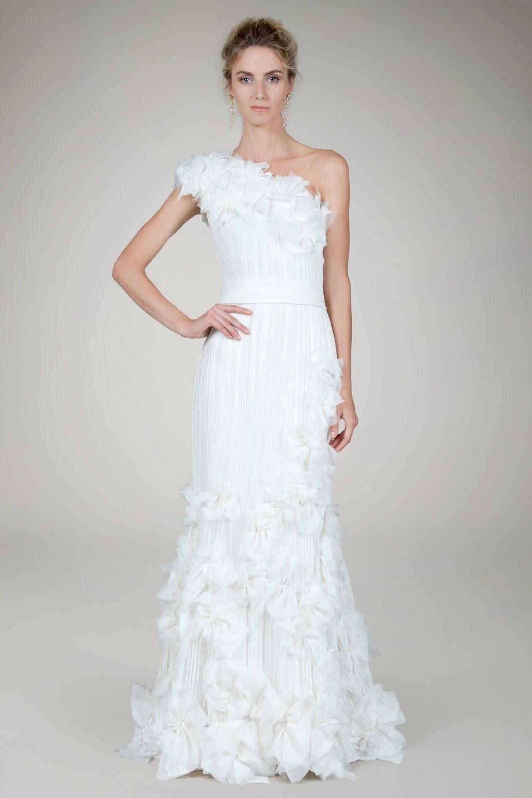 tadashi wedding dresses photo - 1