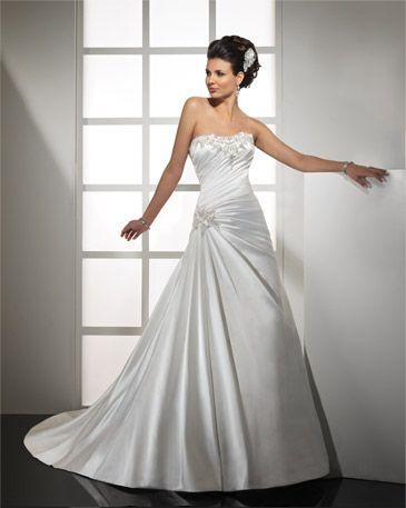 taffeta wedding dresses photo - 1
