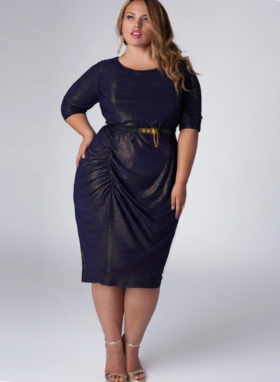 tall plus size evening dresses photo - 1