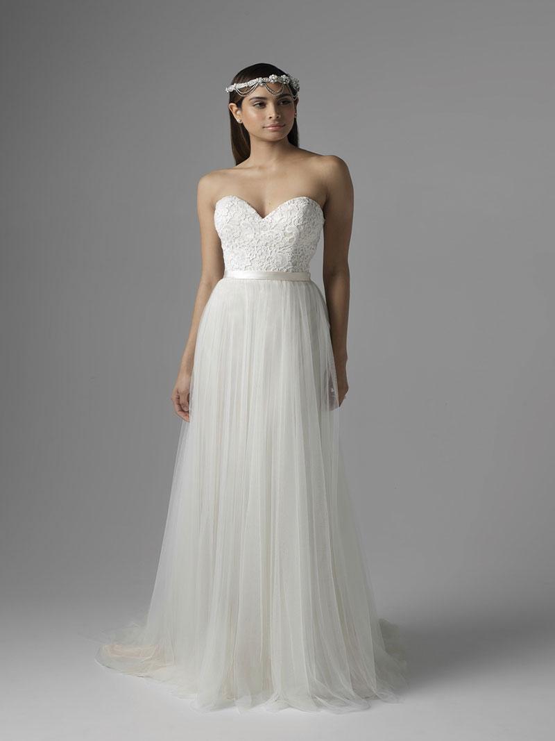 tank wedding dresses photo - 1