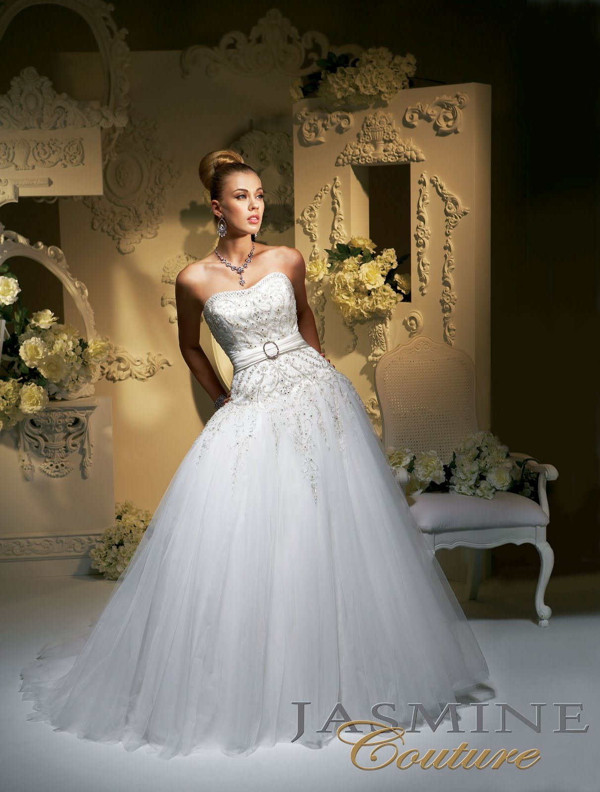 temple ready wedding dresses photo - 1