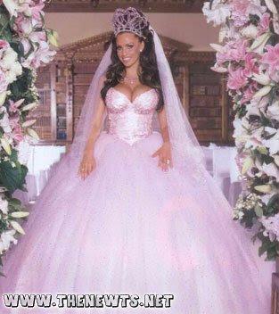 terrible wedding dresses photo - 1