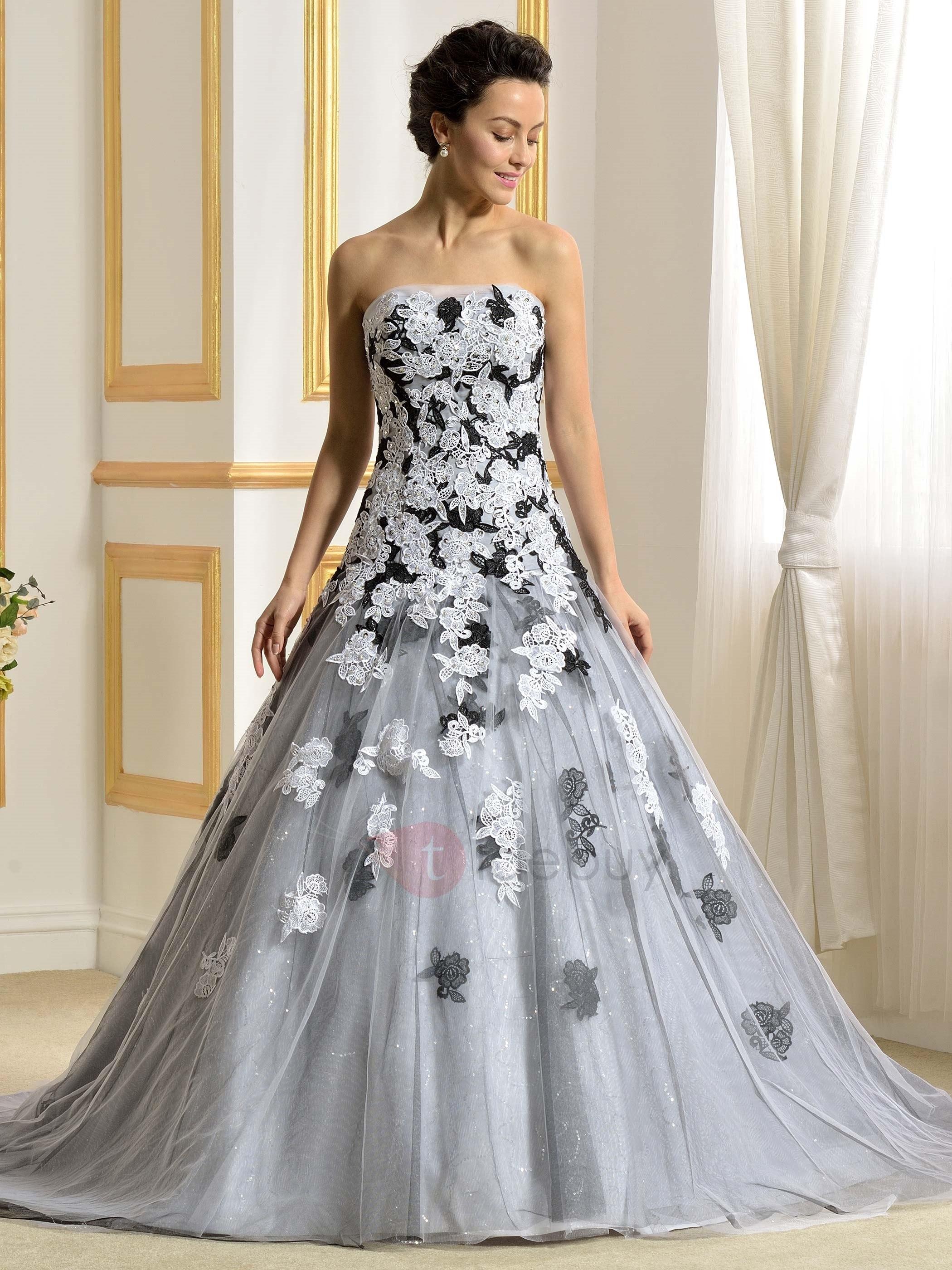 tidebuy wedding dresses photo - 1