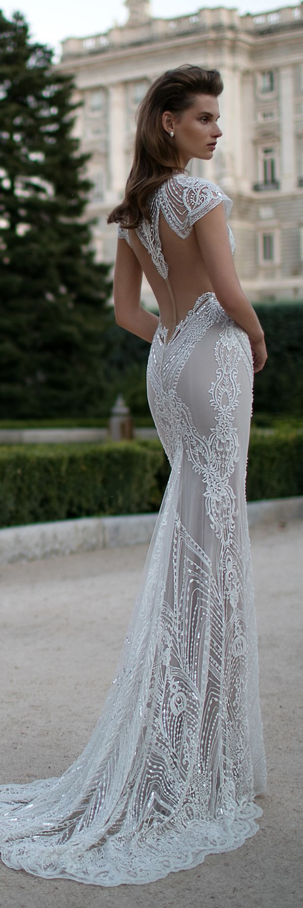 tight fitted wedding dresses photo - 1