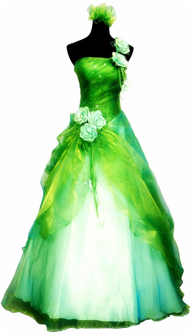 tinkerbell wedding dresses photo - 1