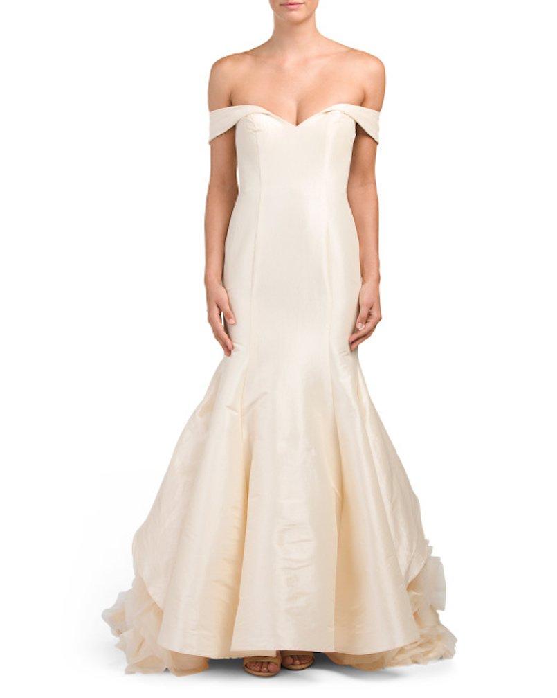 tj maxx wedding dresses photo - 1