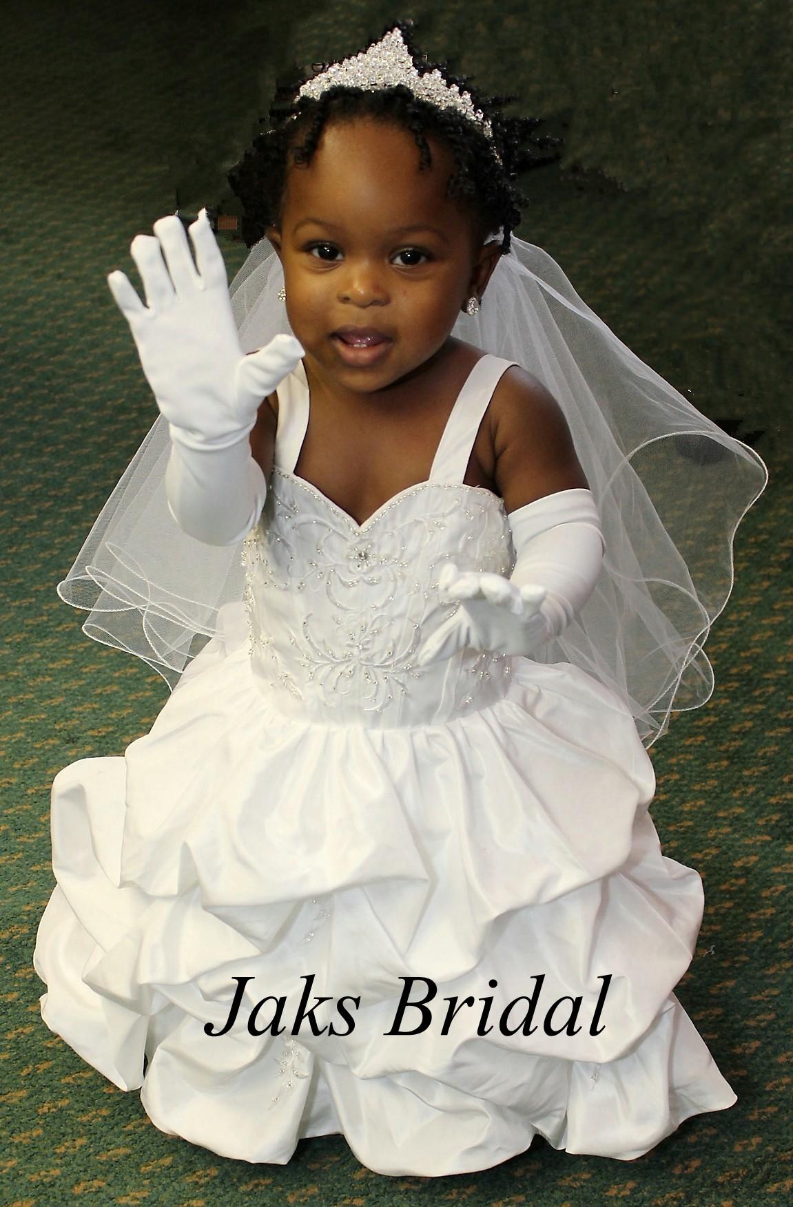 toddler wedding dresses photo - 1