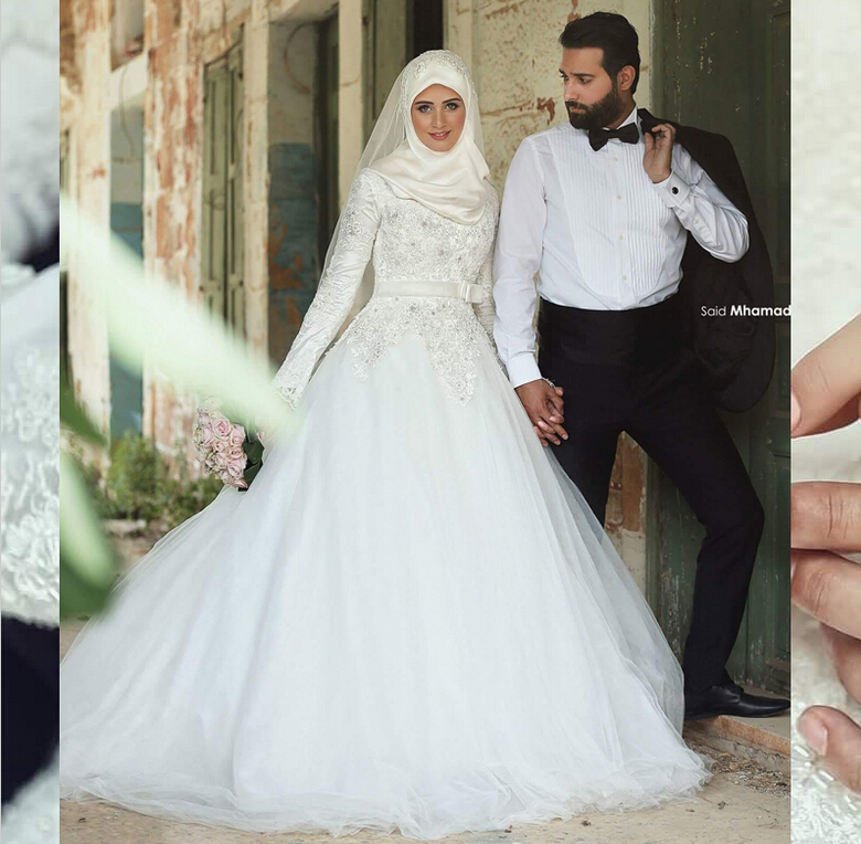 traditional arabic wedding dresses photo - 1