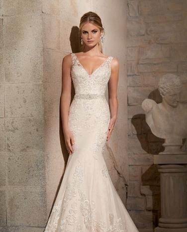 trendy wedding dresses photo - 1
