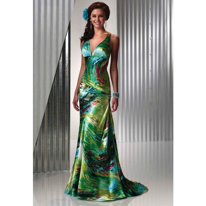 tropical evening dresses photo - 1