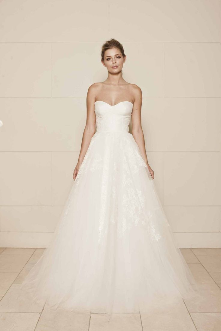 tulle wedding dresses photo - 1