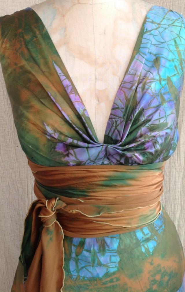 turquoise beach wedding dresses photo - 1