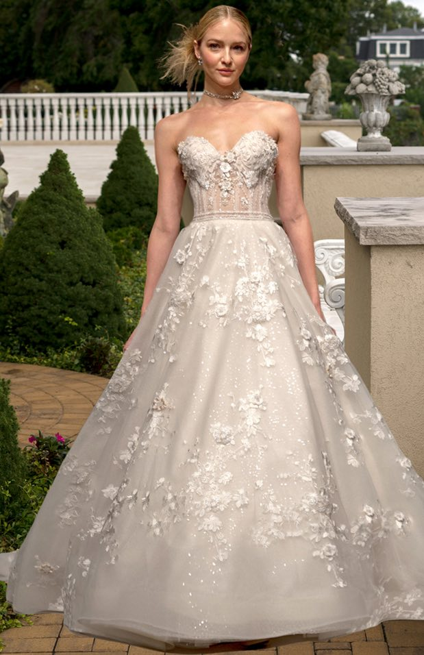 two colored wedding dresses photo - 1