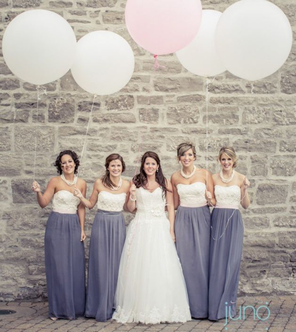 two toned wedding dresses photo - 1