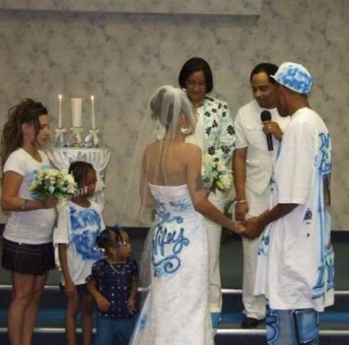 ugly wedding dresses photo - 1