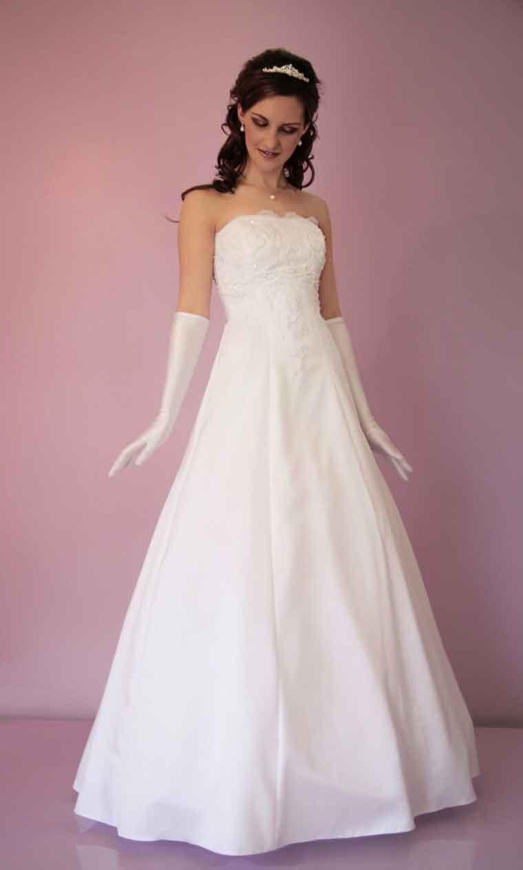 unique wedding dresses cheap photo - 1