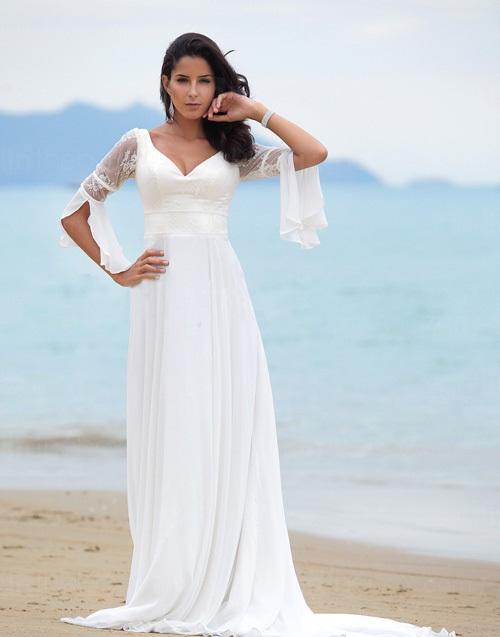 used cheap wedding dresses photo - 1