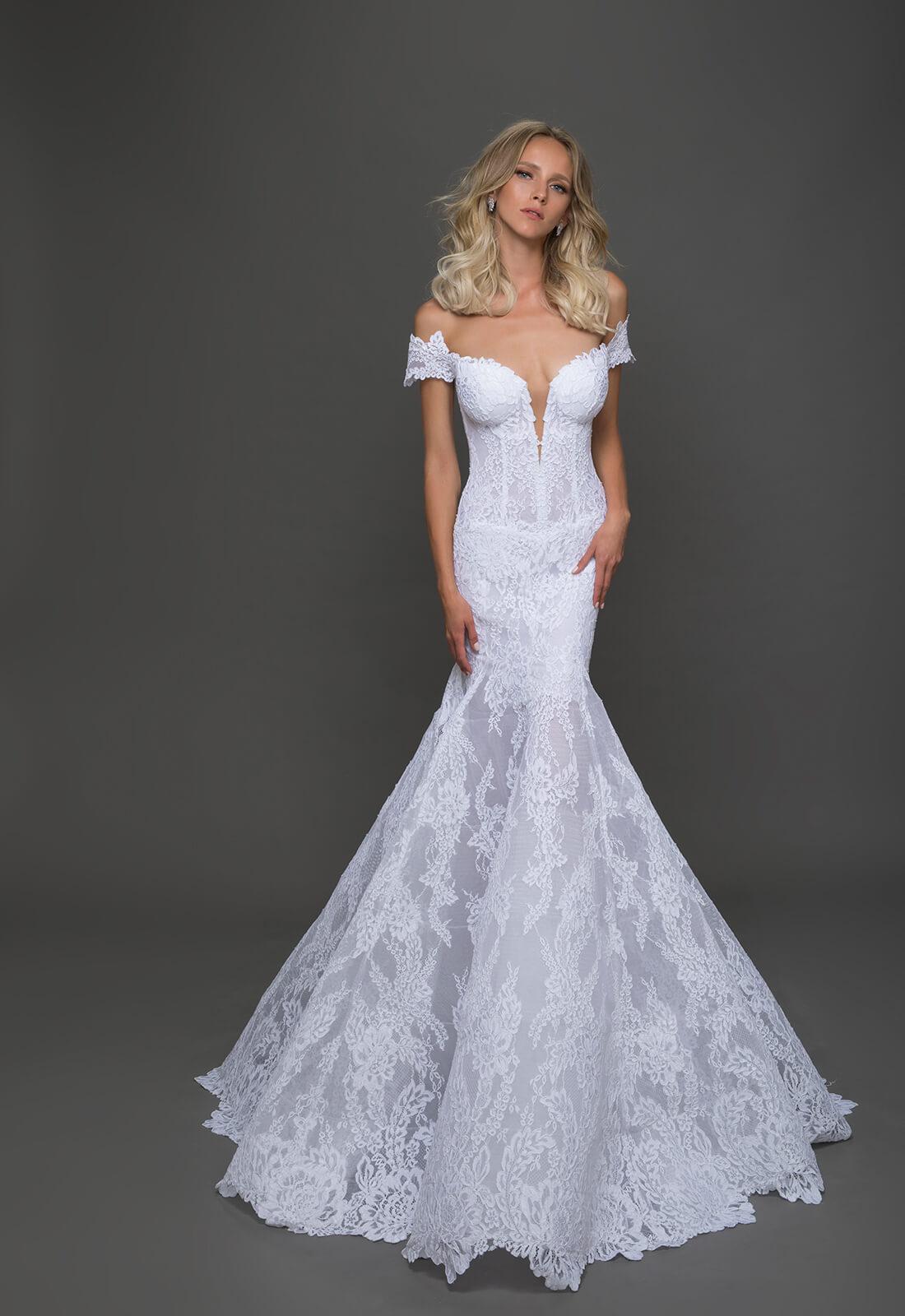 used pnina tornai wedding dresses photo - 1