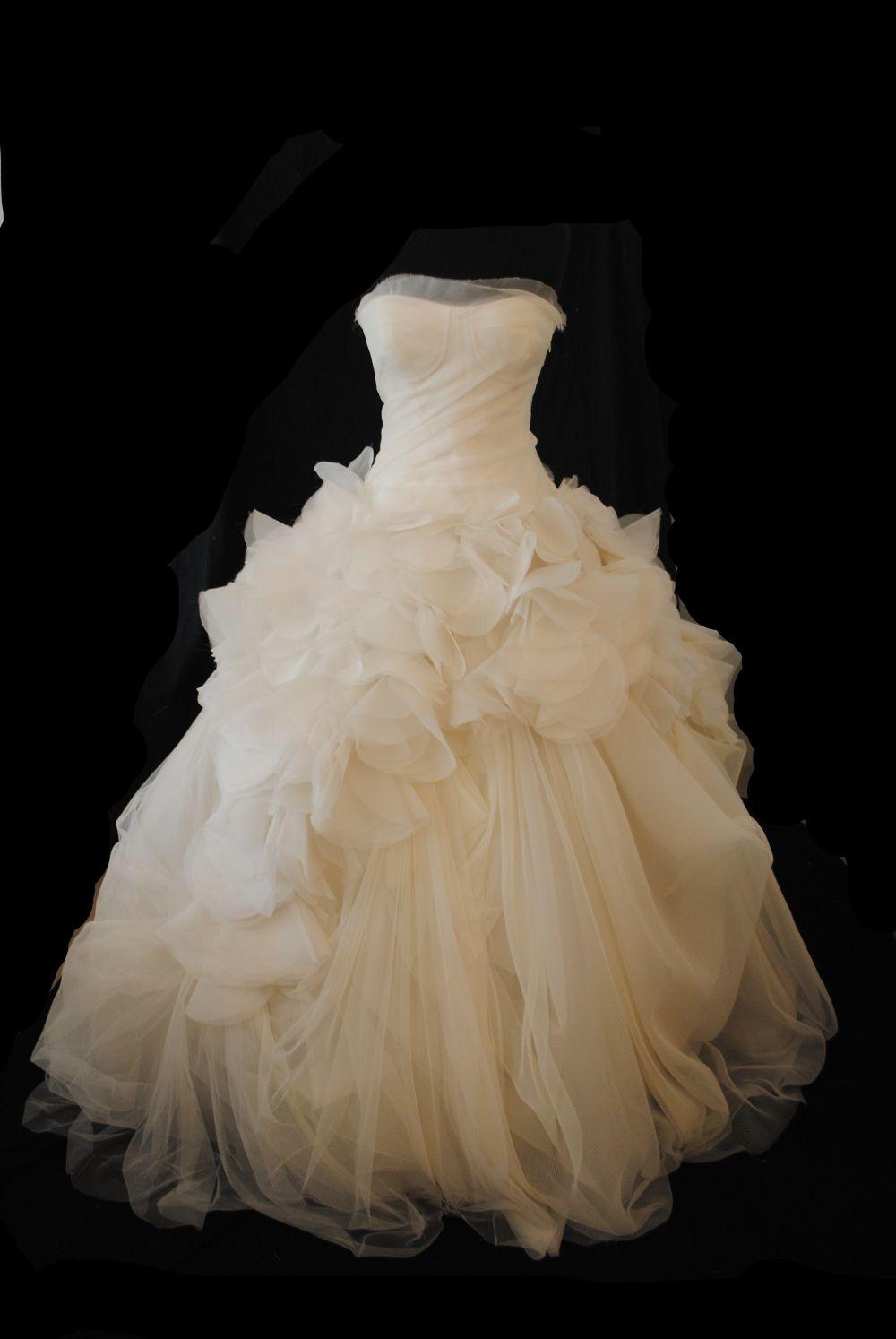 used vera wang wedding dresses photo - 1