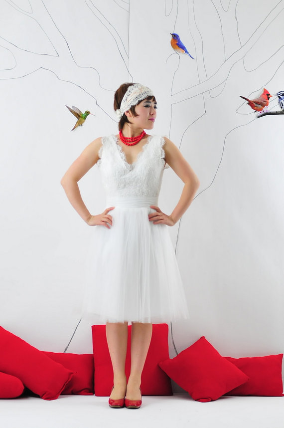 valentine wedding dresses photo - 1