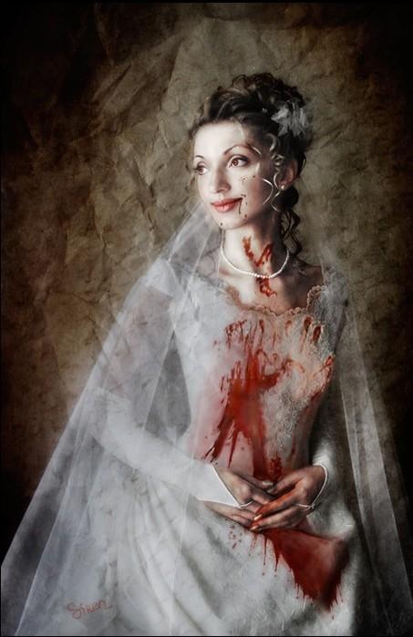 vampiric wedding dresses photo - 1