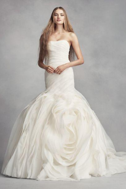 vera wang trumpet wedding dresses photo - 1