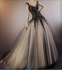 victorian gothic wedding dresses photo - 1
