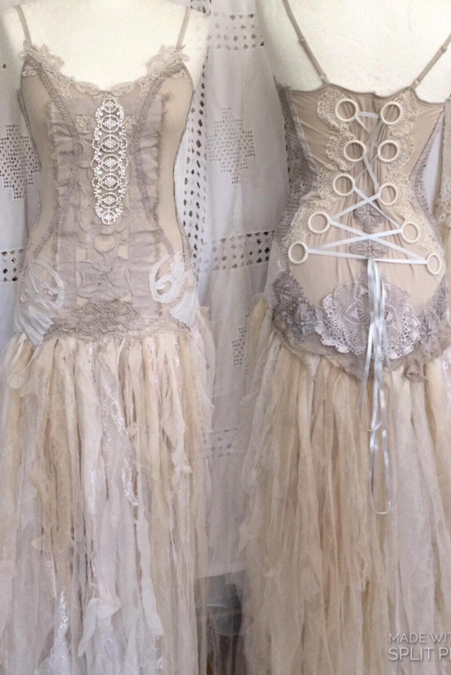 victorian inspired wedding dresses photo - 1
