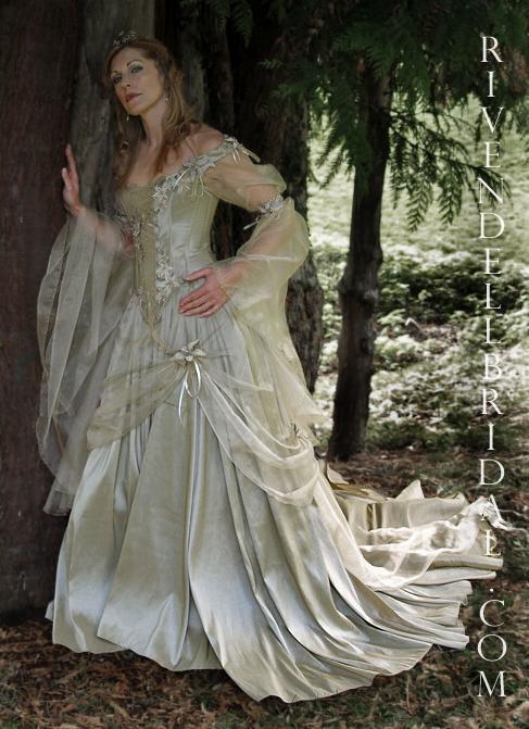 viking wedding dresses photo - 1