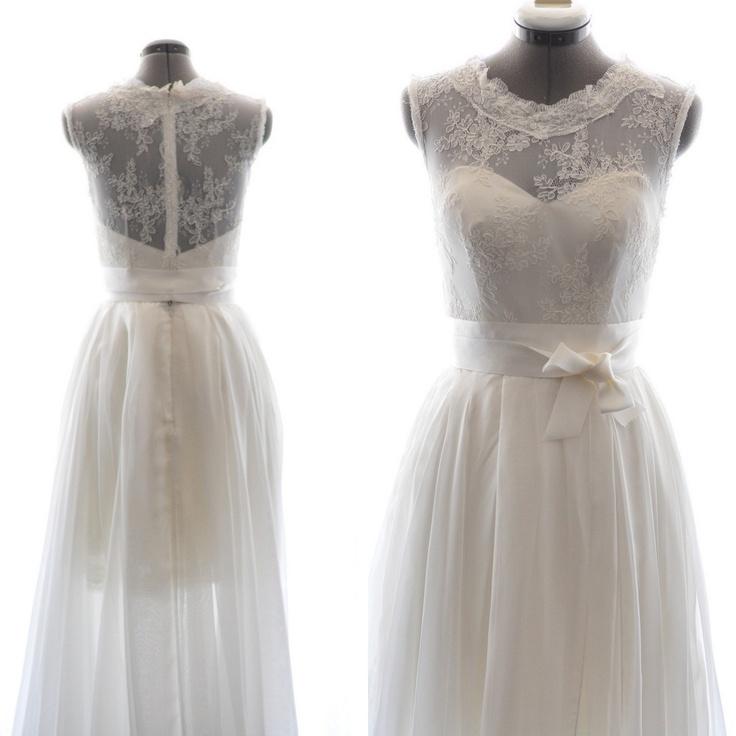 vintage 1950s wedding dresses photo - 1
