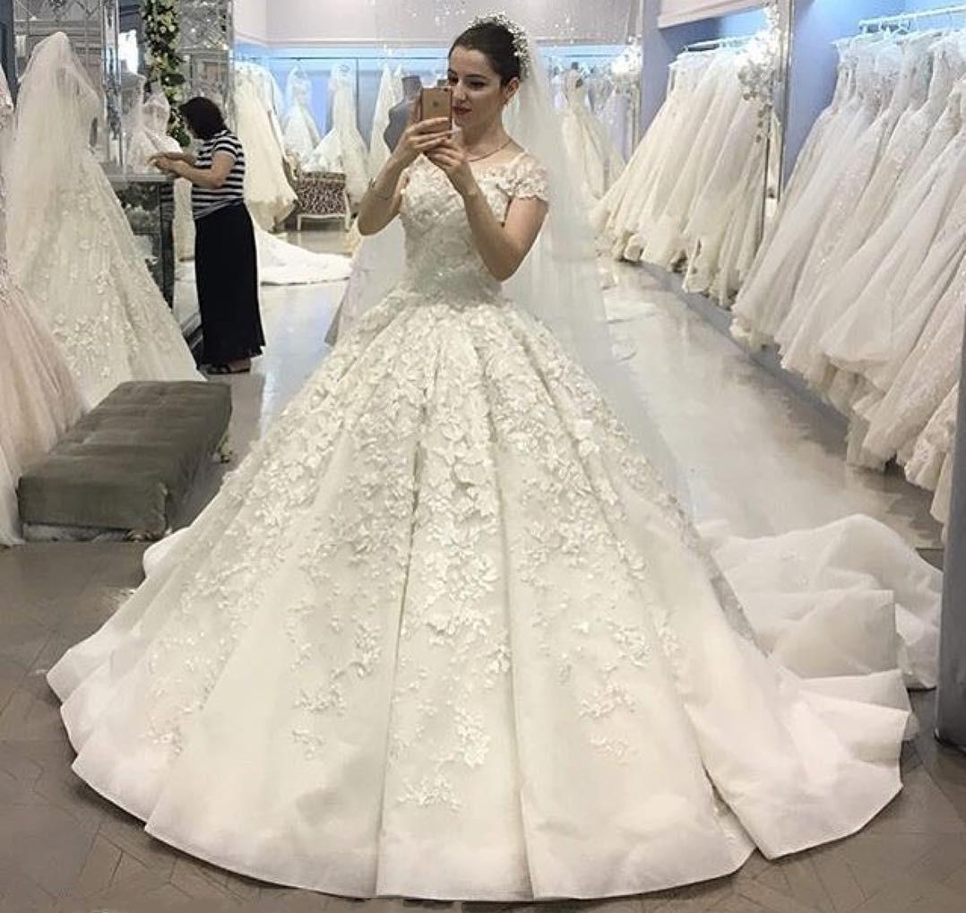 vintage ball gown wedding dresses photo - 1
