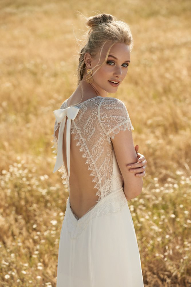 vintage bohemian wedding dresses photo - 1