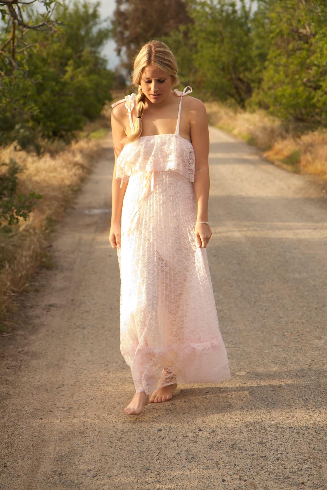 vintage hippie wedding dresses photo - 1
