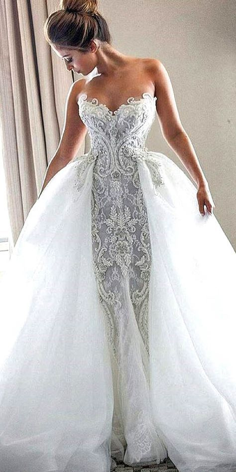 vintage lace wedding dresses photo - 1