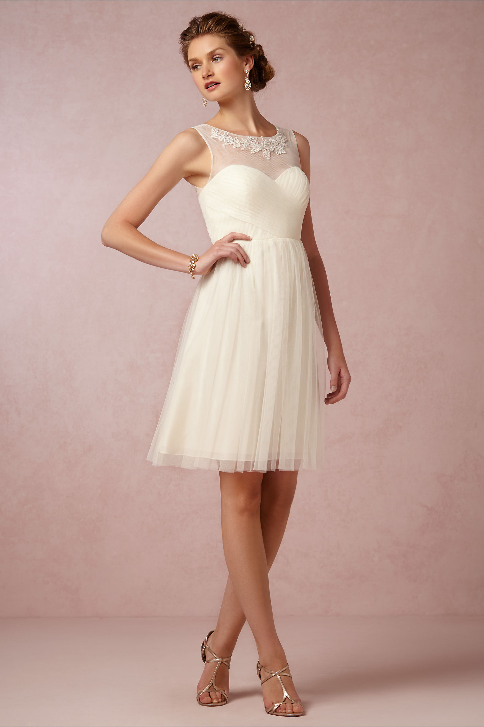 vintage look wedding dresses photo - 1