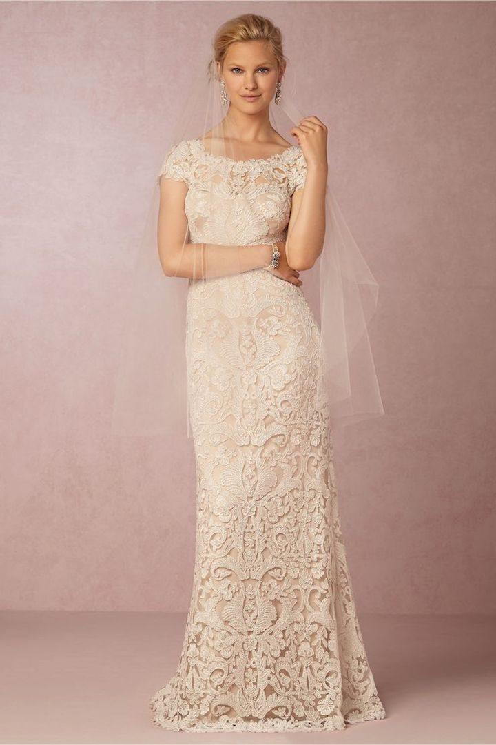vintage looking wedding dresses photo - 1