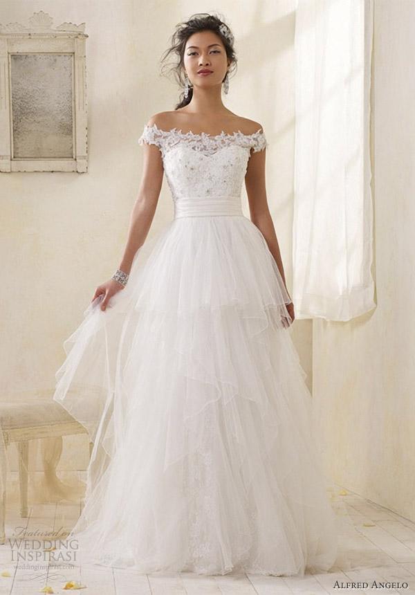 vintage modern wedding dresses photo - 1