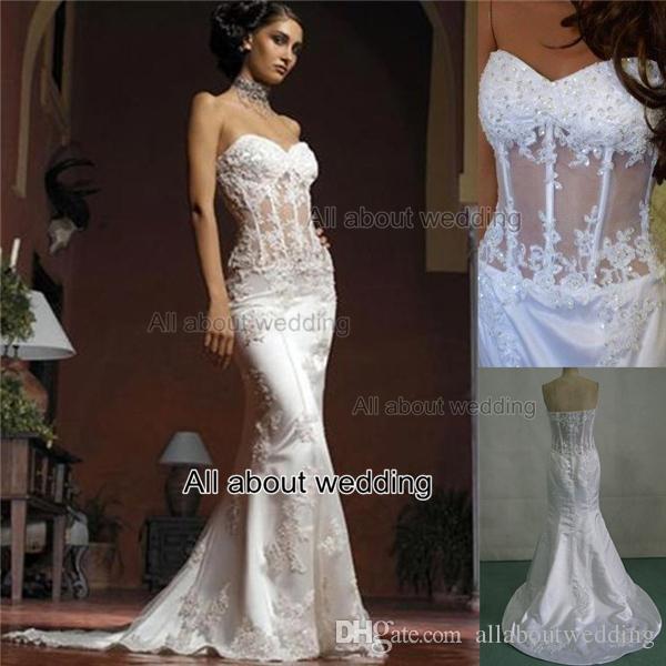 vintage style lace wedding dresses photo - 1
