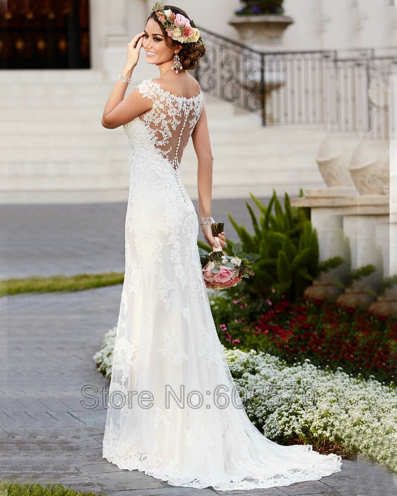 vintage wedding dresses cheap photo - 1